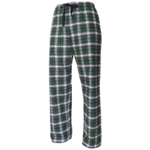 Green, White and Black Flannel Pants