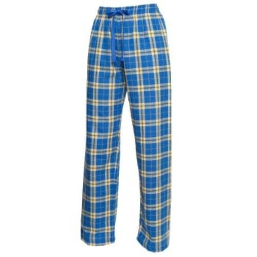 Royal and Gold Flannel Pants