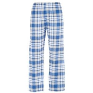 Royal and Light Gray Flannel Pants