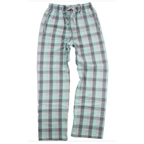 Mint and Grey Flannel Pants
