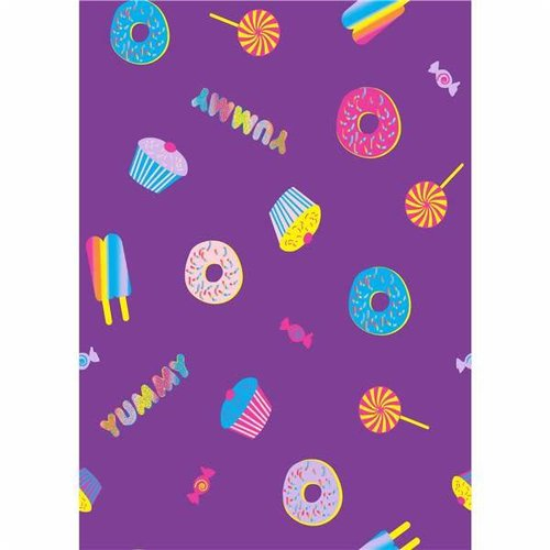 Purple Sweets Jersey Sheets