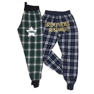Zip Code Star Plaid Joggers