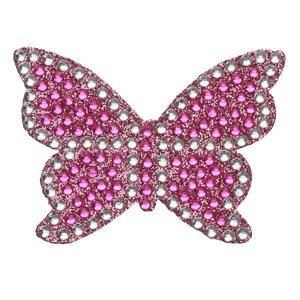 Pink Butterfly StickerBean