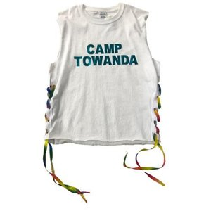 Rainbow Laced Camp Sleeveless Shirt