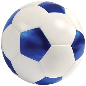 Metallic Soccerball Pillow