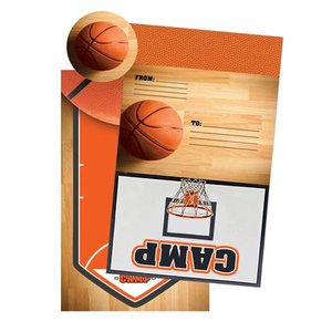 Basketball Foldover Cards