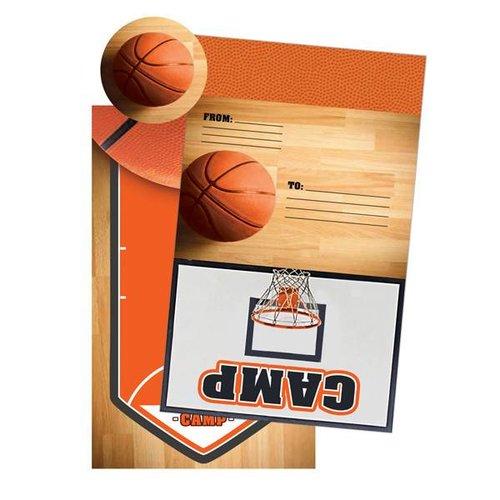 Basketball Foldover Cards