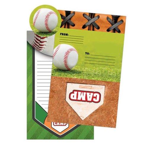 Baseball Foldover Cards