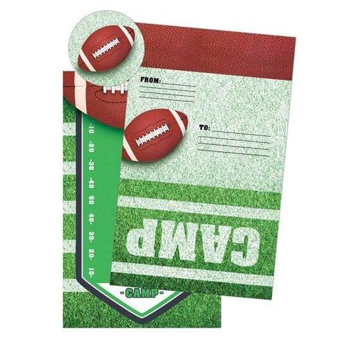 Football Foldover Cards