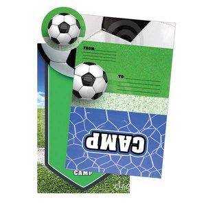 Soccer Foldover Cards