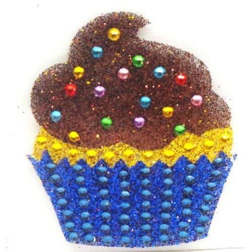 Cupcake StickerBean
