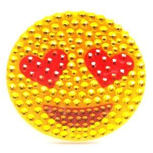 Smiley Heart Eyes StickerBean