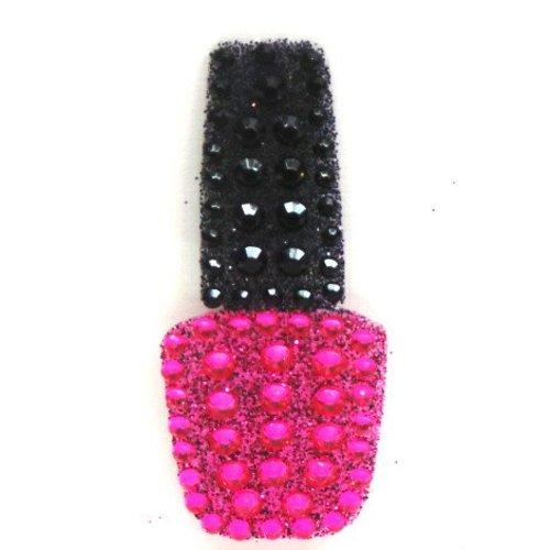 Pink Nail Polish StickerBean