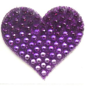 Ombre Heart StickerBean