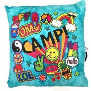Camp Explosion Autograph Pillow