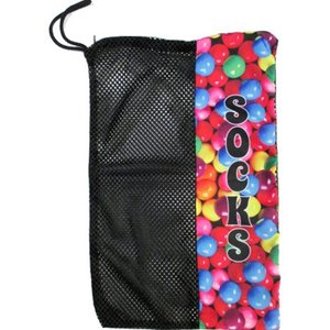 Gumball Mesh Sock Bag