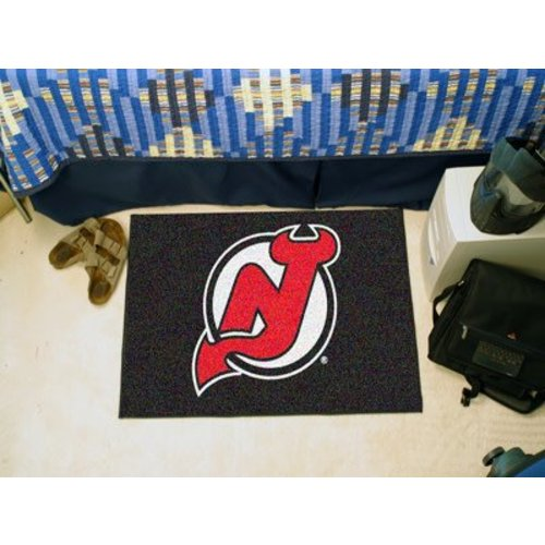 NJ Devils Rectangle Mat