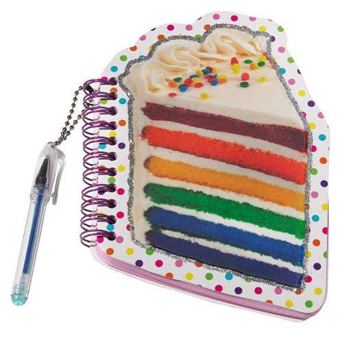 Rainbow Cake Mini Notepad