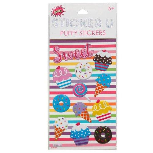 Sugar Shack Puffy Stickers