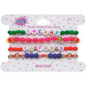 I Heart Camp Beaded Bracelet Set