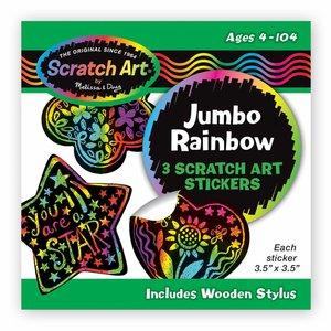 Rainbow Scratch and Sketch Sticker