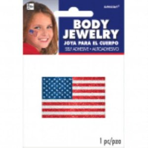 Flag Body Jewelry