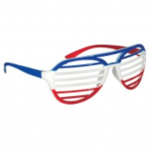 Red, White and Blue Slot Glasses