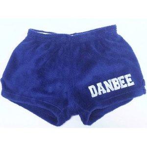 Original Glitter Camp Name Fuzzy Shorts