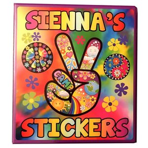 Groovy Sticker Book