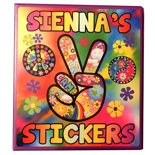 Groovy Sticker Book