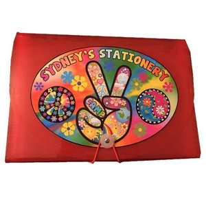 Peace Fingers 7-Pocket File