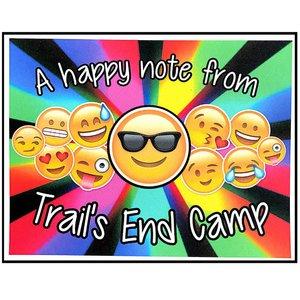 Rainbow Emoji Notecards
