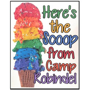 Colorful Scoops Notecards
