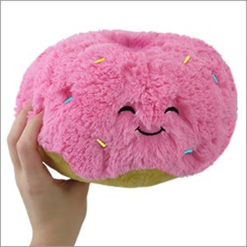 "Squishable 7"" Pink Donut"