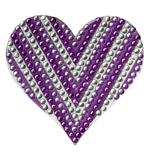 Chevron Heart StickerBean