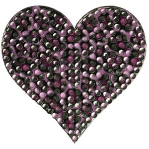 Leopard Heart StickerBean