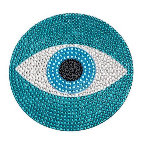 Med Evil Eye StickerBean