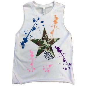 Camo Star Splatter Camp Tank