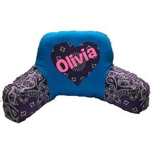 Bandana Heart Boyfriend Pillow