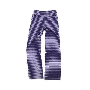 Purple Striped Jersey Pants