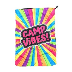 Camp Vibes Mesh Laundry Bag