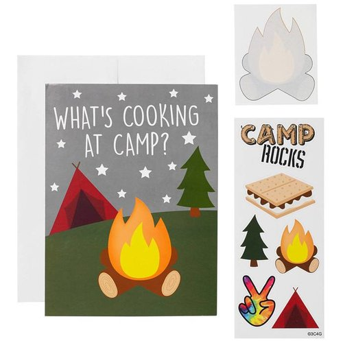 What's Cooking Camp Card