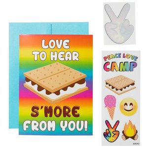 S'mores Camp Card