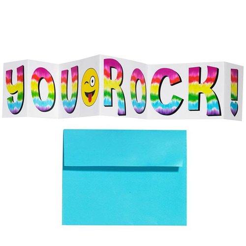 You Rock Folding Card