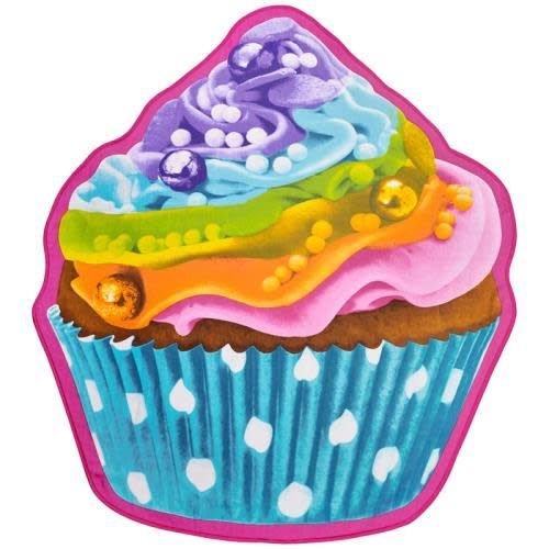 Rainbow Cupcake Beach Blanket