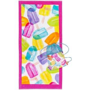 Popsicle Towel-in-a-Bag Set