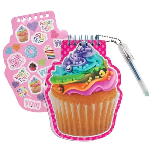 Rainbow Cupcake Mini Notepad