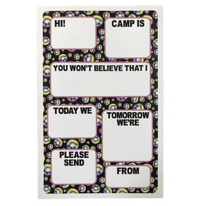 Happy Faces Fill-In Notepad