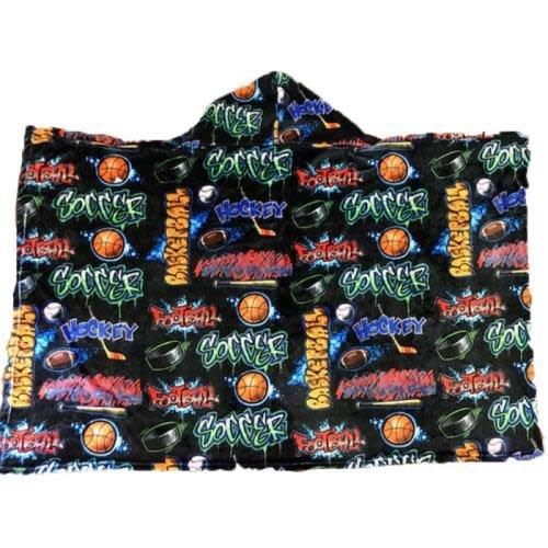 Crazy Sports Hoodie Blanket