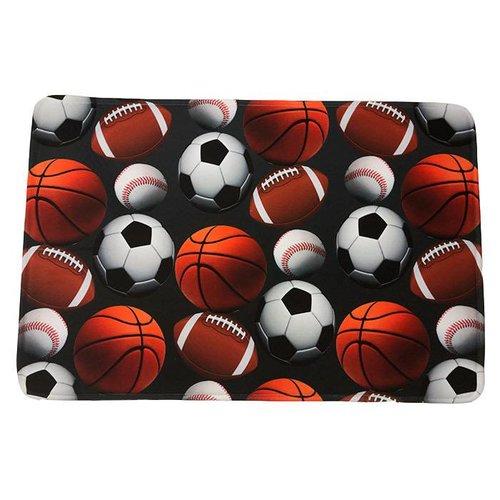 Charcoal Sports Ball Mat